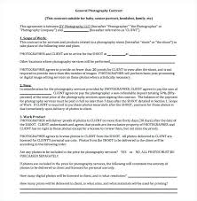 Wedding Photography Contract Form Free Wedding Photography Contract Template Uk Marriage Ceremony