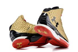 under armour basketball shoes stephen curry. buy cheap men\u0027s under armour ua stephen curry one all american mid basketball shoes gold/black/red sale online m