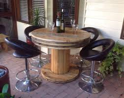Cable Spool Furniture Set