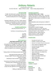 Resume Category Examples Best of Examples Of Qualifications For A Resume Graduate Financial Skill