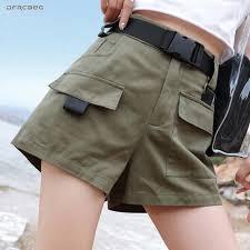3XL плюс размер женские летние <b>шорты</b> с поясом 2019 модные ...