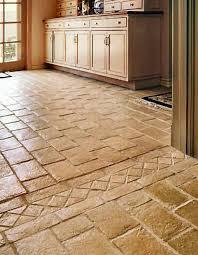 Kitchen Floor Vinyl Tile Flooring Tile Types