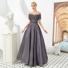 Stock 2019 Scoop Neck A Line Luxurious Beaded Sequined Evening Dresses Elegant Long Robe Femme Short Sleeve Formal Prom Gowns Plus Size Evening Dress