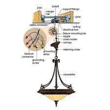 how to install a heavy chandelier hang hook installation instructions