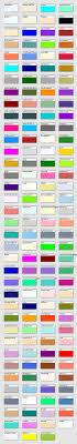 Svg Named Color Codes Displayed In Svg