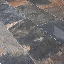 48 fresh gray slate floor tile home idea