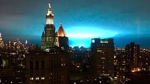 Con Edison Light Blue Sky In New York City Caused By Power Company Mishap Cnn