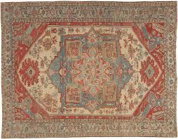 persian antique serapi carpet