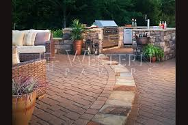 san go paver outdoor kitchen design