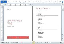 Ms Office Proposal Template Business Templates Plan Template For Microsoft Proposal Ms Office