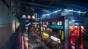 Japanese city pack in Environments - UE ...