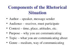 rhetorical situation example essay rhetorical triangle  rhetorical situation essay example topics sample rhetorical situation example essay