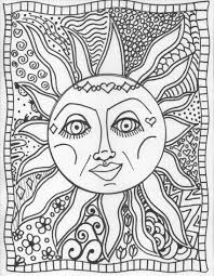 Small Picture Coloring Tie Dye Coloring Pages