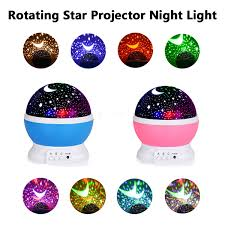 Baby Girl Night Light Projector Details About Constellation Night Light Baby Kids Lamp Moon Star Sky Projector Rotating Cosmos
