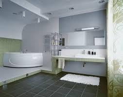 bathroom wall paintBathroom Comely White And Grey Bathroom Decorating Design Ideas