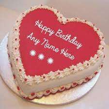 Birthday Cakes With Name Edit Birthdaycakeforkidscf