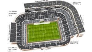 Uk Football Seating Chart Newcastle United Stadium Plan Visitors Guide