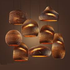 Paper lighting Illumination Industrial Modern Nordic Pendant Corrugated Paper Lamp Lights Paper Lamp Molo Design Paper Lamp 35 Lovely Diy Paper Lamps Treelifedesigns