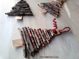 Rustic Christmas Ornaments Rustic Twig Christmas Tree Ornaments Stowtellu Xjunkersunite