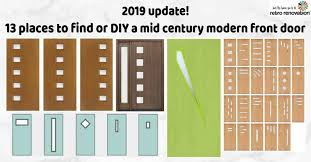 14 Places to Buy or <b>DIY</b> Mid Century Modern Front Doors - <b>Retro</b> ...