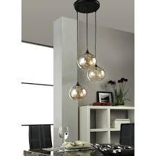 glass lighting uptown metal glass amber globe 3 light cer pendant glass lamp shades nz