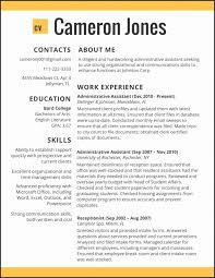 Best Resumes 2017 Inspiration Best Resume Templates 40 Personal Cv Template 40 Template Of