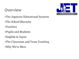 The Japanese School System Ppt Download