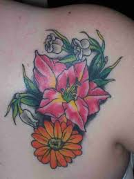 color birth month flowers tattoos flower tattoos and designs page 55