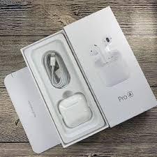 Mua ngay [ Loại Tốt ] Tai nghe bluetooth Không Dây Pro 4 Thế Hệ Mới Nút Cảm  ứng, Tai nghe Bluetooth Khong day samsung oppo sony iphone ,Tai Nghe  Bluetooth i12