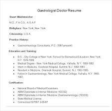 Sample Doctor Resume Medical Resume Template Doctor Resume Template Format Medical