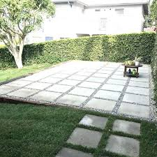 concrete paver patio large how much does a cost