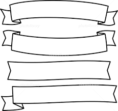 手書きのリボンのイラストセット イラスト素材 5546699 フォト