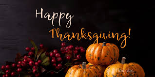 The FlexJobs Team Wishes You Happy Thanksgiving 2019! | FlexJobs