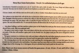 Wooden Horse Race Game Rules Horse Race Game Wood Horse Race Game Kentucky Derby Wooden 58