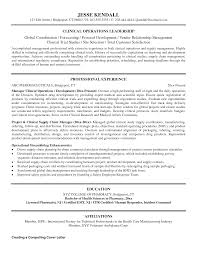 Clinical Trial Manager Sample Resume - Mitocadorcoreano.com