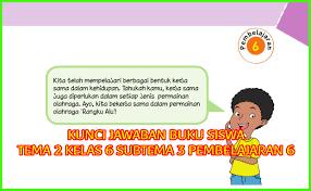 Setelah mempelajari buku tematik kelas 2, siswa akan melaksanakan uts. Kunci Jawaban Buku Siswa Kelas 6 Tema 2 Halaman 139 140 Sanjayaops
