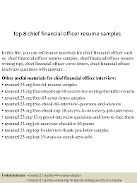 Top8chieffinancialofficerresumesamples 150424215047 Conversion Gate01 Thumbnail 4 Jpg Cb 1429930301