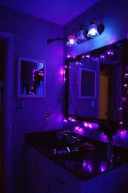 Purple Lights For Bedroom Room Ideas Best Black Light Room Ideas On Black  Light Inspired Purple