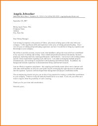 cover letter to the editor template cover letter to the editor