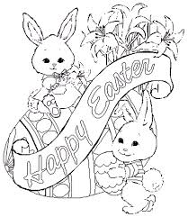 Best Of Easy Easter Coloring Pages Virancultureorg