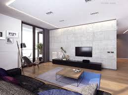 Lcd Tv Furniture For Living Room Interior Design Lcd Tv Living Room Lavish Loft Style Apartment