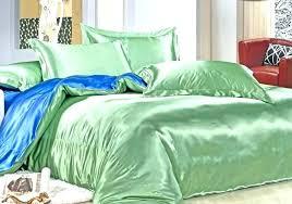 fascinating forest green duvet cover linen set velvet superb du