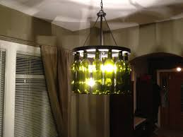 Lamps Cool Diy Wine Bottle Light Fixture For Your Home