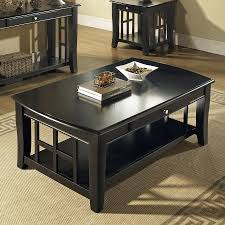 steve silver company cassidy ebony birch coffee table