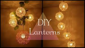 Diy Lantern Lights Cute Hanging Lights For Home Diy Lights Lantern