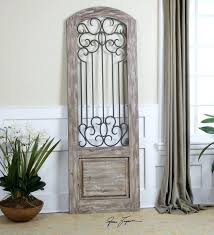 wood and iron wall decor wrought