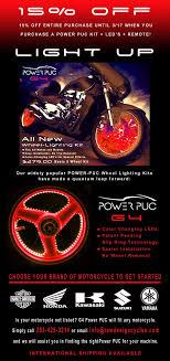 Wheel Light Kit Raw Deisigns G4 Powerpuc Motorcycle Wheel Lighting Kit