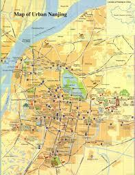nanjing urban map  nanjing maps  china tour advisors
