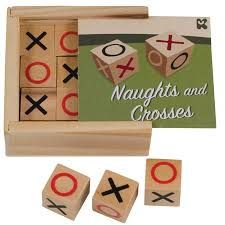 Naughts And Crosses Wooden Game Simple Wooden Noughts And Crosses Wooden Children's Games