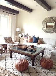 interior with beni ourain rug